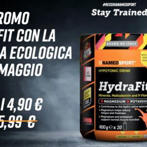 Named Sport, Hydrafit con borraccia in Promo presso le Farmacie Recchia di Toritto e Grumo Appula